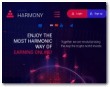 cryptoharmony.io screenshot