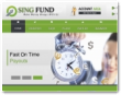 Singfund.club screenshot