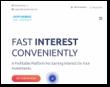 Cryptinterest.com screenshot